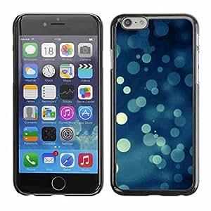 "Shell-Star ( Bokeh Snowflakes Snowing Christmas ) Fundas Cover Cubre Hard Case Cover para 4.7"" iPhone 6"