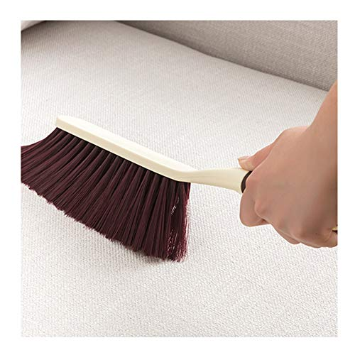 - YJFENG Plastic Broom Brush Soft And Dense Bristles Sweeping Bed Sofa Rug Seating Fireplace Wall-mounted (Color : Multi-colored, Size : 37x8cm)