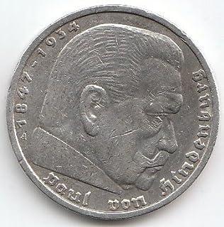 Deutsches Reich Jägernr 360 1936 A Sehr Schön Silber 1936 5