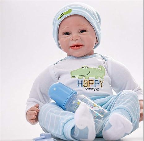 AFYH Reborn bebé, Muñeca para niños de 22 Pulgadas y 55 cm ...