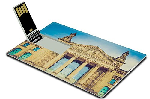 Liili 32GB USB Flash Drive 2.0 Memory Stick Credit Card Size IMAGE ID 32074721 Vintage looking Reichstag German houses of parliament in Berlin - Dome Reichstag Berlin