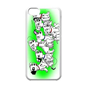 101 Dalmatians Cartoon Pattern Productive Back Phone Case For Iphone 5c -Style-12