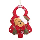Nadition Christmas Decorations  Fashion Christmas Ornament Christmas Tree Hanging Cute Pendant Santa Claus Snowman Doll Gift