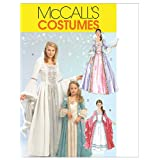 McCall's Patterns M5731 Misses'/Children's/Girls' Princess Costumes, Size KID [(3-4) (5-6) (7-8)]