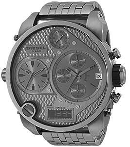 diesel men 39 s dz7247 sba gunmetal watch diesel watches. Black Bedroom Furniture Sets. Home Design Ideas