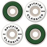 Spitfire Classic Series 52mm High Performance Skateboard Wheel (Set of 4)