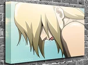 "Naruto 5th Hokage Tsunade (1) Animated Comic Canvas Art Canvas Print Picture print Size: (60"" x 40"")"
