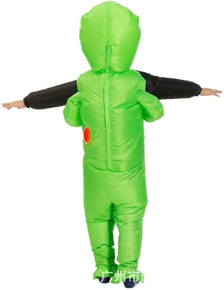 Child Size, ET Alient Holding LafaVida Alien Inflatable Suit Fancy Costume Halloween Cosplay Fantasy Costume 51 Area Men Women Doctor Schnabel Dinosaur Baby Trump