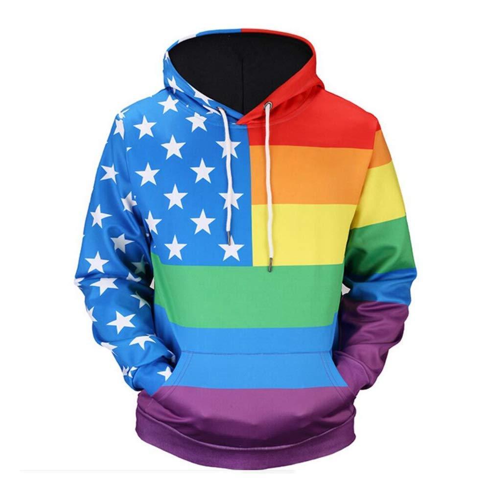 Männer Herbst Herbst Hooded 3D Hoodies Männer 3D Sweatshirts Hohe Qualität Pullover Neuheit Männlich Langarm Mit Kapuze Tops Mantel (Farbe   Picture Farbe, Größe   XXXL)