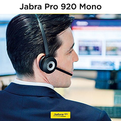 Jabra PRO 920 Mono Entry Level Wireless Headset with 3-in-1 Wearing Styles by Jabra (Image #1)