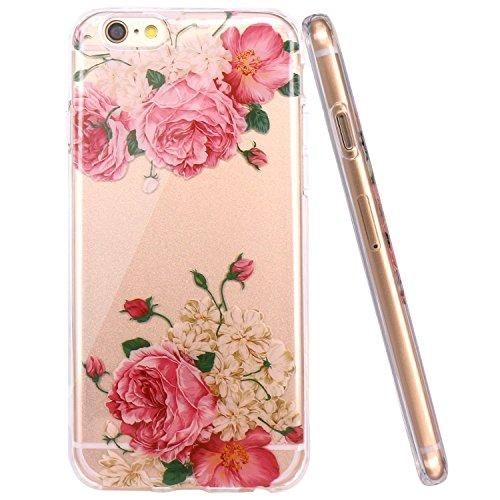 iPhone 6 / 6S Hülle Qissy® Case für iPhone 6 6s Silikon-Hülle Soft Shell-Transparent Weiche Silikon Schutzhülle TPU Bumper Case für iphone 6 Plus / 6s plus Cover 7