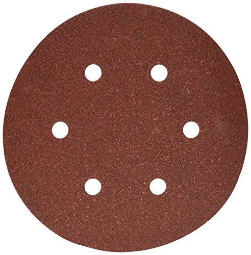 - PORTER-CABLE 736600825 6-Inch 6-Hole Hook and Loop 80 Grit Sanding Discs (25-Pack)