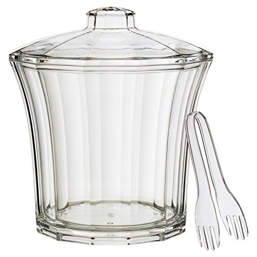 Access Creative Bath CH502 Fluted Insulated Ice Bucket with Tongs online