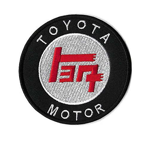 Toyota Patch Embroidered Iron/Sew on Badge - 3.5