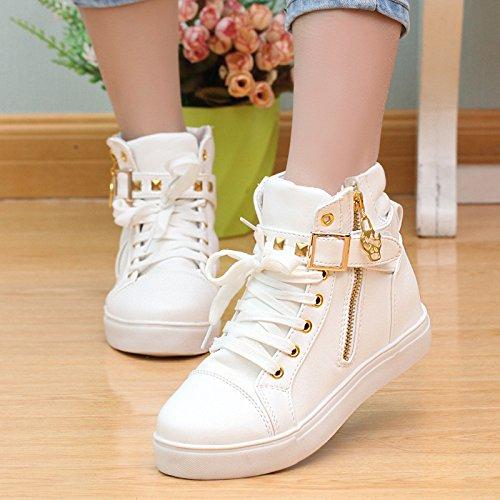 dbd7861b3cf 85% OFF NGRDX G Zapatos De Lona Zapatos De Mujer Zipper Wedge Zapatos  Zapatos Deportivos De