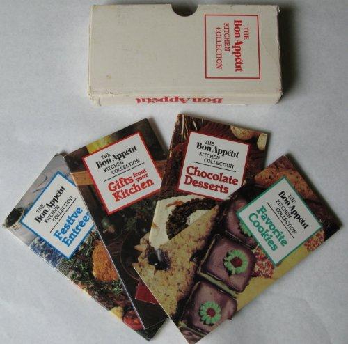 Bon Appetit Kitchen Collection - Bon Appetit Kitchen Collection Boxed Set, Gifts From Your Kitchen, Festive Entress, Favorite Cookies, Chocolate Desserts