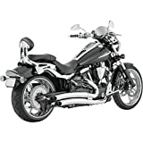 Vance & Hines 18527 Big Radius 2-Into-2 Exhaust for 09-12 Yamaha XVS950 V-Star (C01020366)
