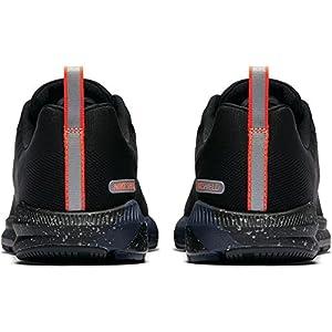 Nike Women's Air Zoom Structure 21 Shield Running Shoe Black/Black-Black-Obsidian 9.0