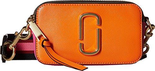 Marc Jacobs Women's Snapshot Cross Body Bag, Orange Multi, One Size by Marc Jacobs