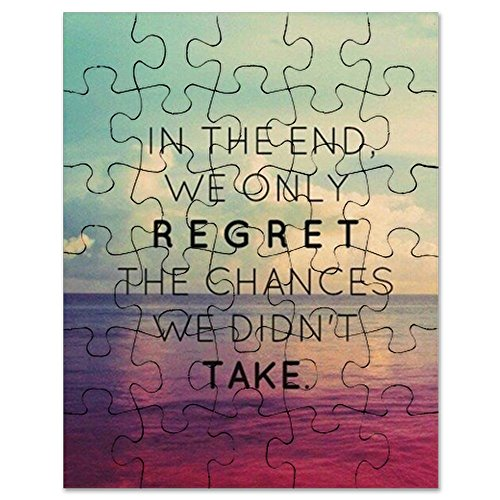 CafePress - Inspirational Quote - Jigsaw Puzzle, 30 pcs.