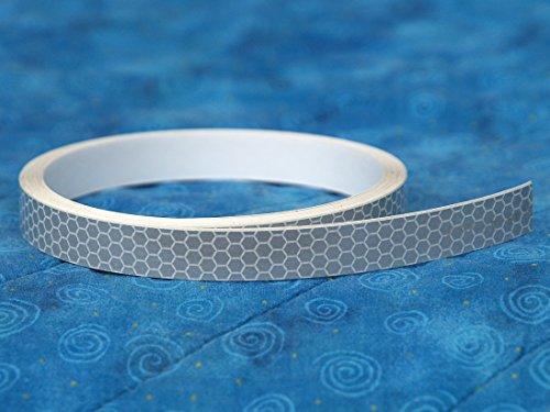 3M Scotchlite 3150A SOLAS Grade Reflective Conspicuity Tape (.5 inch x 12 - Tape Measure Pressure Sensitive