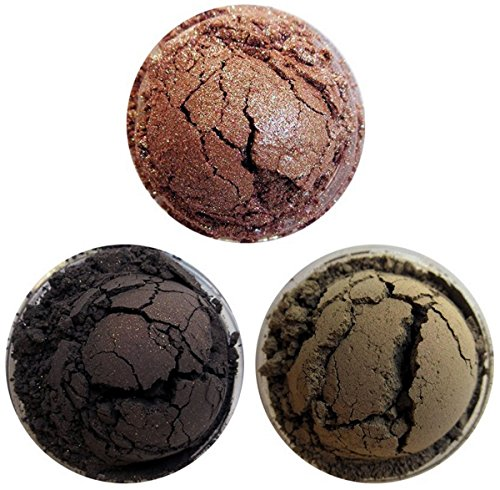(Shiro Cosmetics Eye Shadow Indie Makeup Trio - Wizard Wheezes, The Boy Who Lived, He Who Must Not Be Named (2.0 grams each))