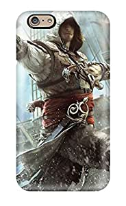 Hot 2669646K67897790 Protection Case For Iphone 6 / Case Cover For Iphone(assassin's Creed Iv Black Flag)