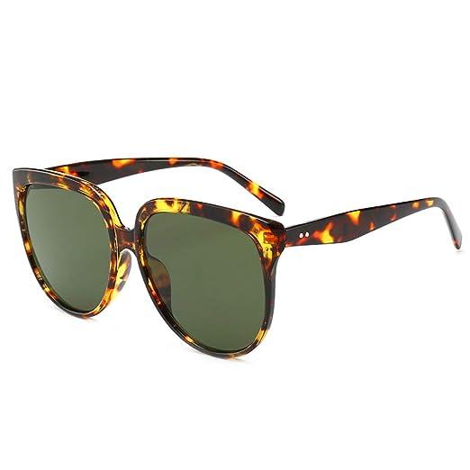 Yangjing-hl Gafas Gafas ovales Retro Gafas de Sol con ...