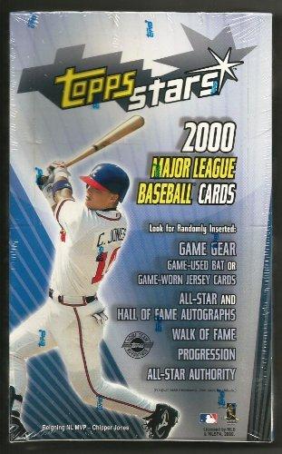 2000 Topps Stars Baseball Box of Trading Card Packs - Possible Hall of Famer Autographs