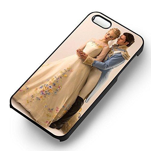 Cinderella Movie With Prince pour Coque Iphone 6 et Coque Iphone 6s Case (Noir Boîtier en plastique dur) Y6R1UQ