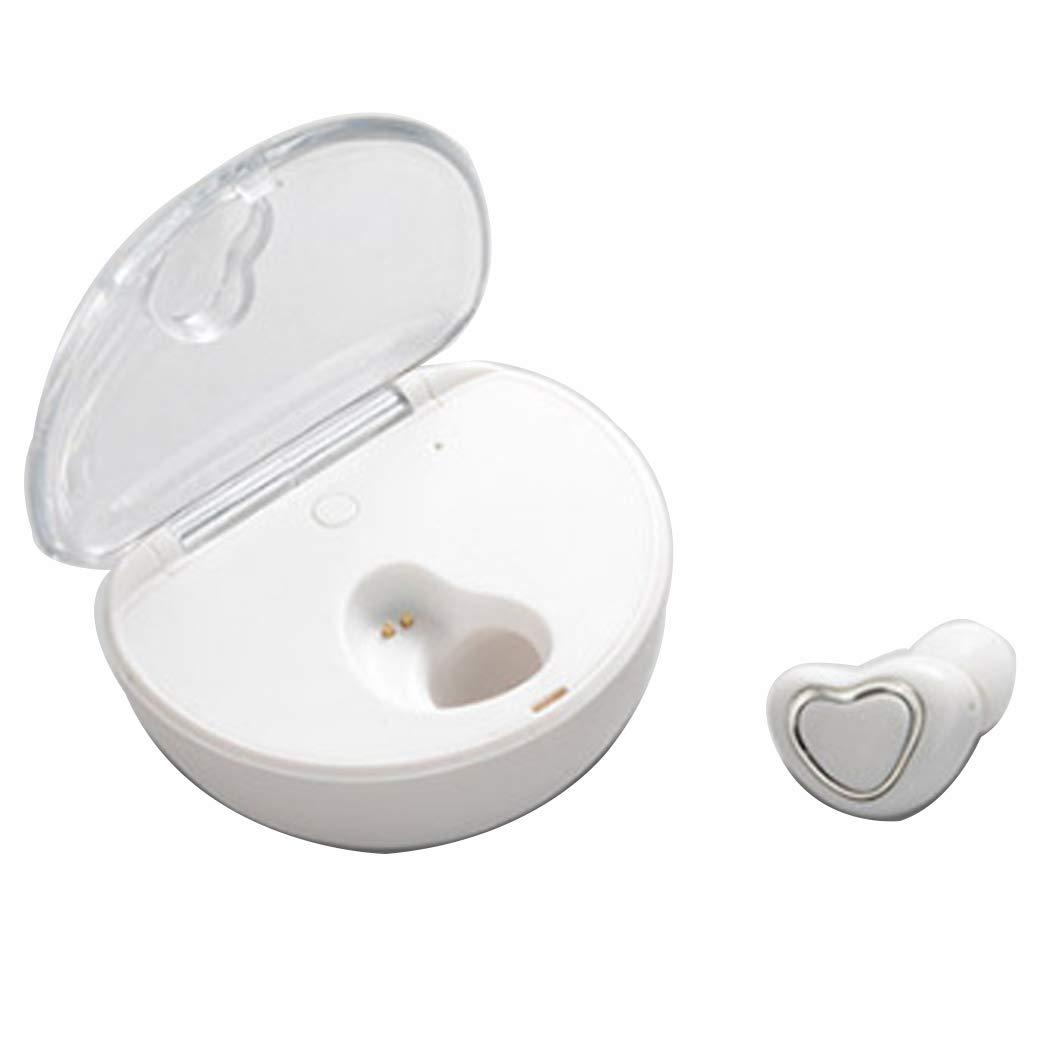 訳あり YWY Bluetoothイヤホン YWY Bluetoothヘッドフォン ワイヤレスヘッドフォン HDステレオミニワイヤレスイヤホン ホワイト Bluetooth V4.1ヘッドセット ホワイト ポータブル充電器付き, ホワイト ホワイト B07H7K7V3C, GLASS-M:2628f927 --- nicolasalvioli.com