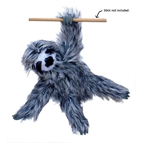 Adore 20  Happy The Farting Three Toed Sloth Plush Stuffed Animal Toy