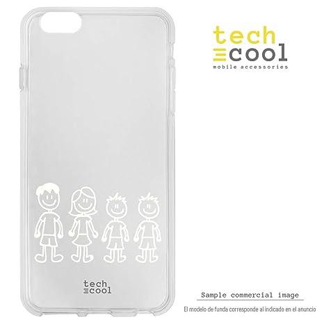 Funnytech® Funda Silicona para Huawei Honor 7X [Carcasa ...