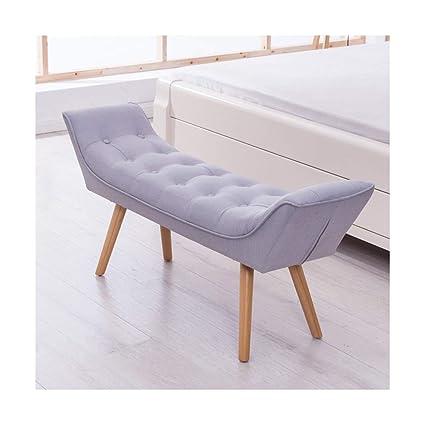 Amazon Com Ao Stools Nordic Bed End Stool Bedroom Fabric Sofa Bench
