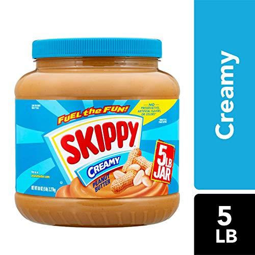 SKIPPY Creamy Peanut Butter, 5 lb (Natural Peanut Butter Skippy)