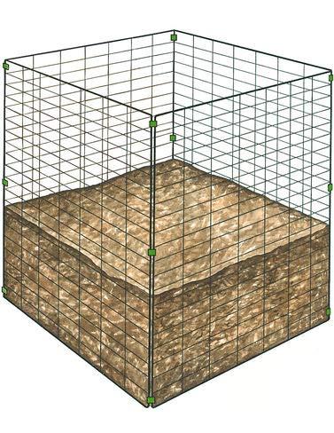 (Gardener's Supply Company Single Bin Wire Composter)