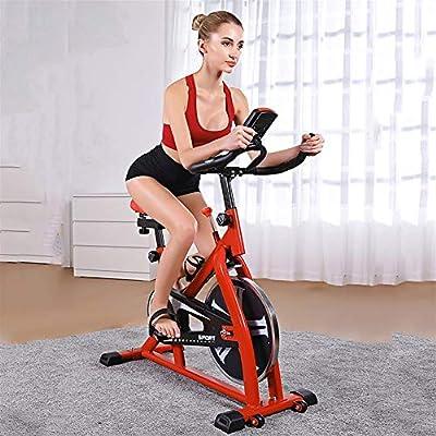GJWYEYEYE Bicicleta estática para casa, ultra silenciosa, para ...