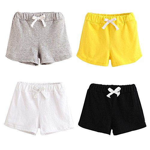3-Pack Newborn Toddler Baby Boy Girl Shorts Bloomers Summer