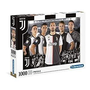 Clementoni 39529 Puzzle Juventus 2020 1000 Pezzi Made In Italy Puzzle Adulti Puzzle Calcio