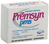 Premsyn PMS Formula Caplets, 40-Count Boxes (Pack of 3)