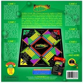 Periodic Quest: Juego de Cartas y Juegos de Mesa con más de 6 Juegos de Cartas y Juegos de Mesa basados en la Mesa periodica de Elementos.: Amazon.es: Juguetes y juegos