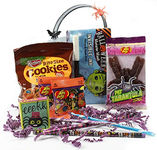 Cookie Monster Halloween Pail (Halloween Bucket Set for Kids, Premade - Filled with Toys and Candy (Monster)