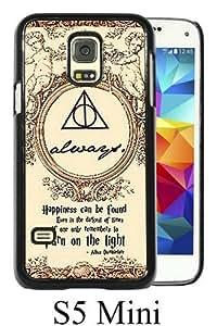 Harry Potter Black New Cool Custom Design Samsung Galaxy S5 Mini Cover Case