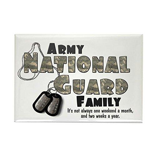 CafePress National Guard Family Rectangle Magnet Rectangle Magnet, 2