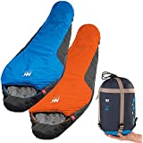 Campsod 0 degree(celsuis) Cotton sleeping bag best camping sleeping bag for Adults Sleeping Bags
