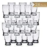 Set of 24 - TrueCraftware Beer Tasting Glasses - 5 Ounce