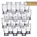 Set of 24 - TrueCraftware Beer Tasting Glasses - 5 Ounce