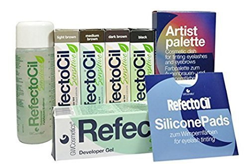 RefectoCil Sensitive Starter Kit for Tinting by RefectoCil