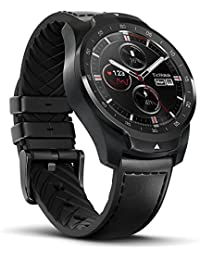 Pro Bluetooth Smart Watch, Layered Display, NFC Payment, Google Assistant, Wear OS by Google (Formerly Android Wear),Compatible with iPhone and Android (Black)