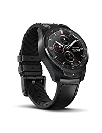 Ticwatch Pro Bluetooth Smart Watch, Layered Display, NFC Payments, Google Assistant, Wear OS by Google, Compatible with iOS and Android (Black)